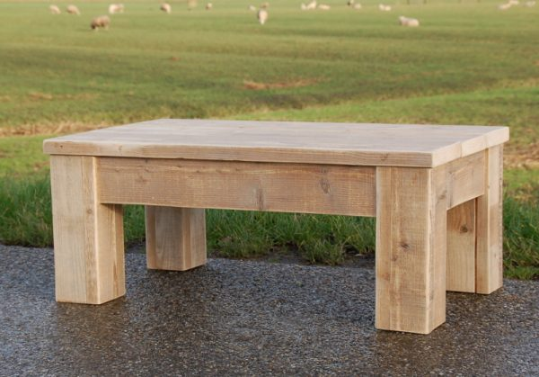 steigerhouten salontafel Geeuw