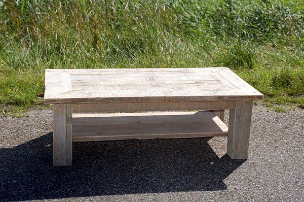 steigerhouten salontafel morra met onderblad