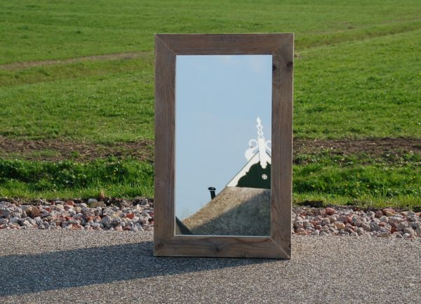 steigerhouten spiegel sansleat